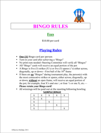 bingo game rules